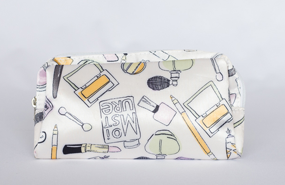 Makeup Bag packaging print